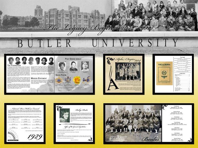Historical Timeline Display - Decade 1